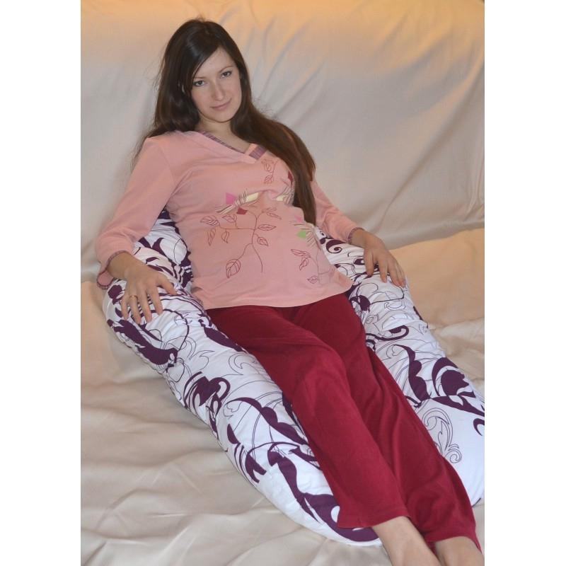 Подушка Комфорт колір Сови на сірому 0