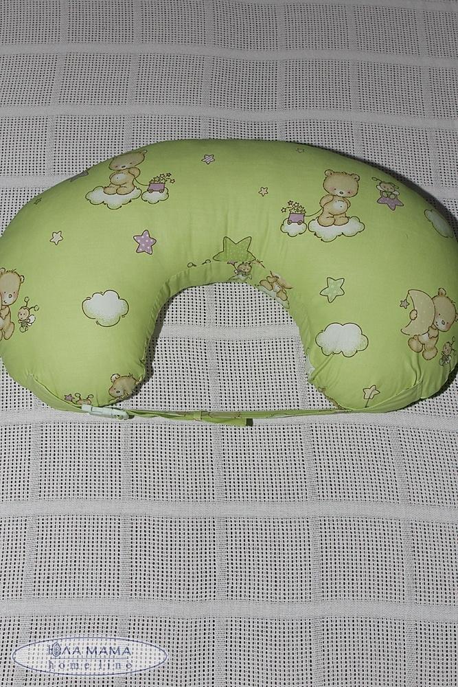 Подушка для кормления  салатовая 0