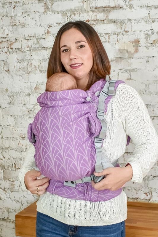 Эрго-рюкзак Adapt сиреневый Lily 0