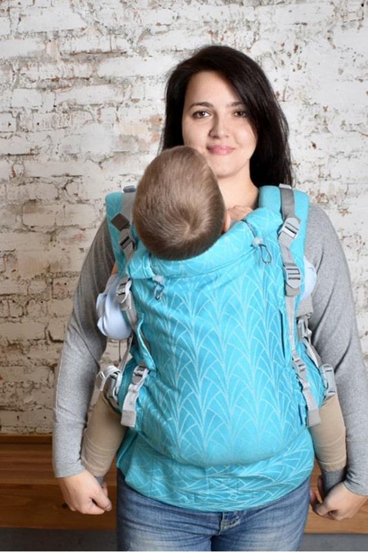 Эрго-рюкзак Adapt бирюзовый Lily 0