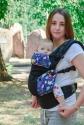 Эрго-рюкзак Світ навколо черный Котята 4