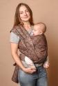 Слинг шарф шоколадный Geometry 2