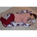 Подушка Комфорт колір Сови на сірому 2