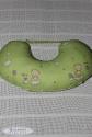 Подушка для годування салатова 2