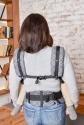 Эрго-рюкзак Adapt серый Geometry 3