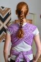 Слінг шарф бузковий Feathers 3