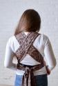 Май-слинг шоколадный Feathers 2