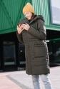 Зимняя слингокуртка  3 в 1 Хаки 1