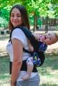 Эрго-рюкзак Світ навколо черный Котята 2