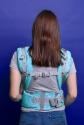 Ерго-рюкзак Adapt бірюзовий Feathers 2