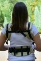 Эрго-рюкзак Світ навколо бежевый Лисята 2