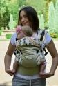 Эрго-рюкзак Світ навколо бежевый Лисята 1