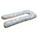 Большая U-образная подушка Перья 2