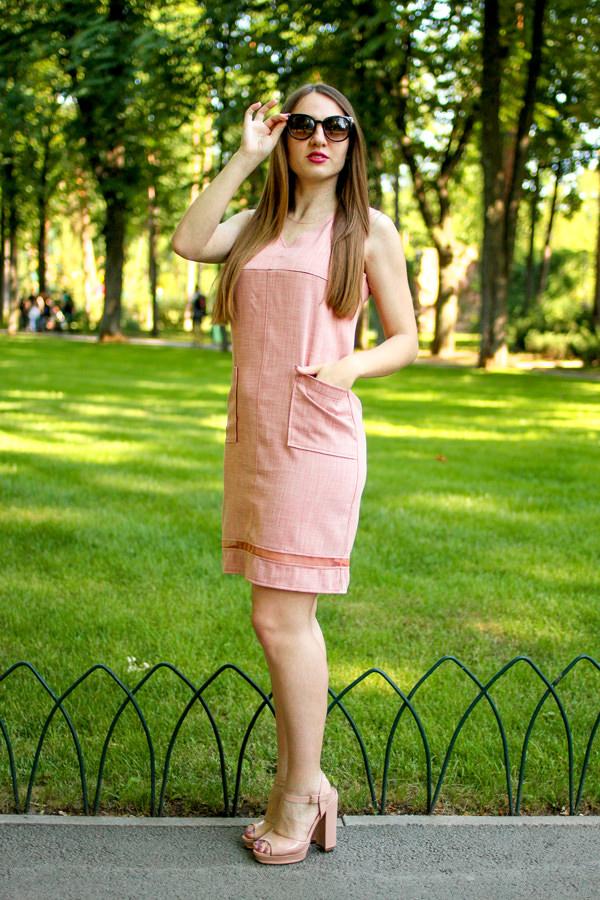 Плаття з V-ним вирізом Терракот — купити у Львові за ціною 780 грн ... bb5539a92917e