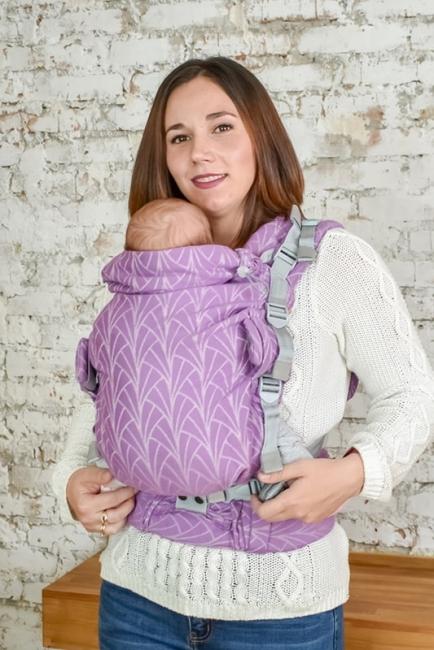Эрго-рюкзак Adapt сиреневый Lily