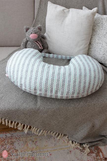 Подушка для годування Зіг-заг
