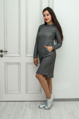 Платье Casual long