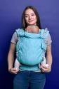 Эрго-рюкзак Adapt бирюзовый Leaf